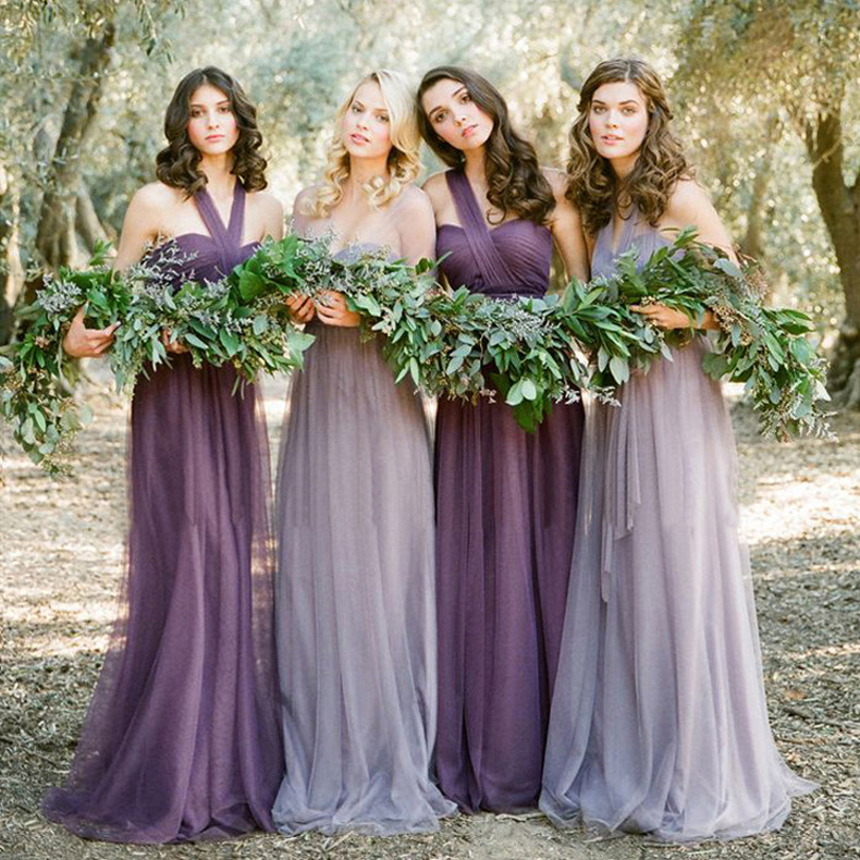 Bridesmaid Dresses Custom Make A Variety Wear Bridesmaid Dresses on ...